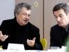 1. srečanje. Janez Koželj, Stojan Pelko. Foto Matevž Paternoster